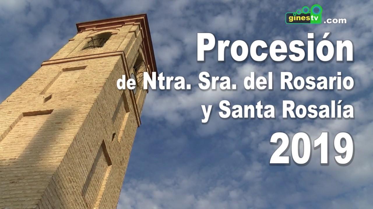 Procesión de Nuestra Señora del Rosario y Santa Rosalía 2019