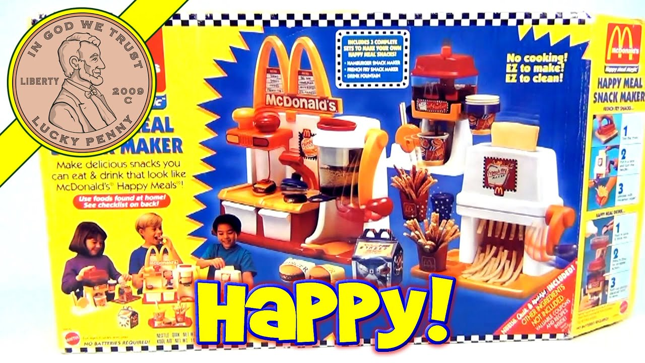 Mcdonalds food maker food for Happy playsets