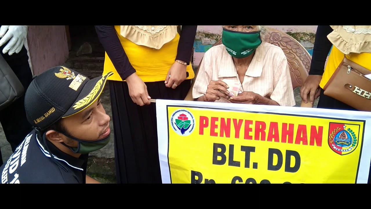 pemabagian BLT dana desa bulan april - YouTube