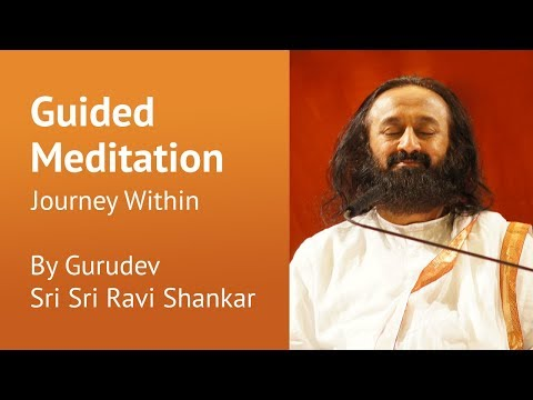 Journey Within | Guided Meditation By Gurudev Sri Sri Ravi Shankar