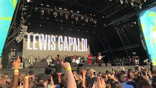 Lewis Capaldi Hold Me While You Wait belsonic 2019 Video