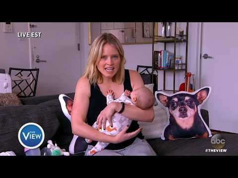 Sara Haines Updates The Ladies On The Newest Addition To Her Family: Sandra Grace! | The View