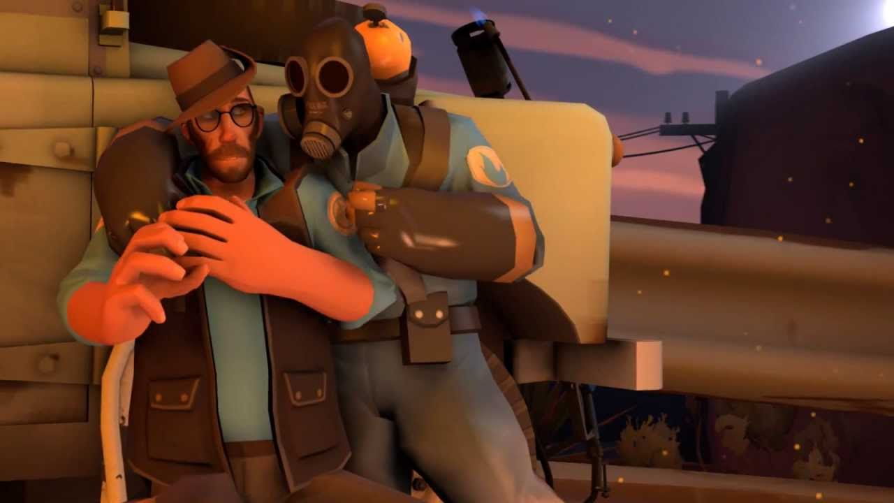 Friendly Camping With Pyro And Sniper Sfm Youtube