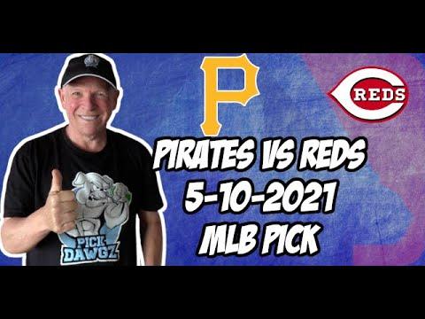MLB Pick Today: Pittsburgh Pirates vs Cincinnati Reds 5/10/21 MLB Betting Pick and Prediction