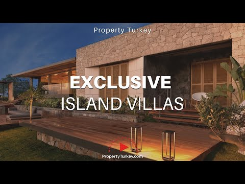 Yalikavak Beach villas on exclusive marina island