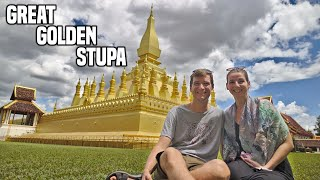 TOP THINGS TO DO in Vientiane & Vientiane to Luang Prabang BY BUS | Laos Travel