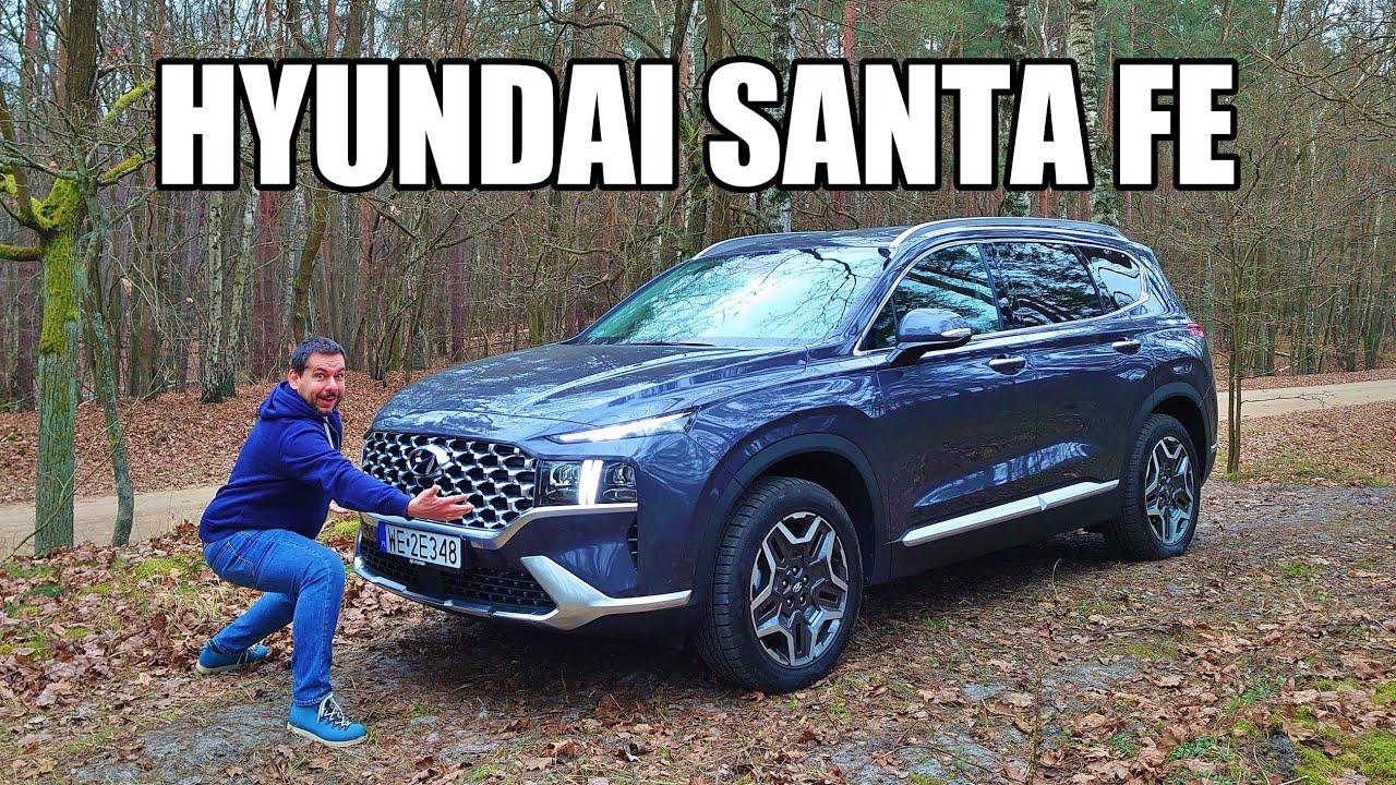 Hyundai Santa Fe 2021 Hybrid FWD - Better Looking Pallisade (ENG) - Test Drive and Review