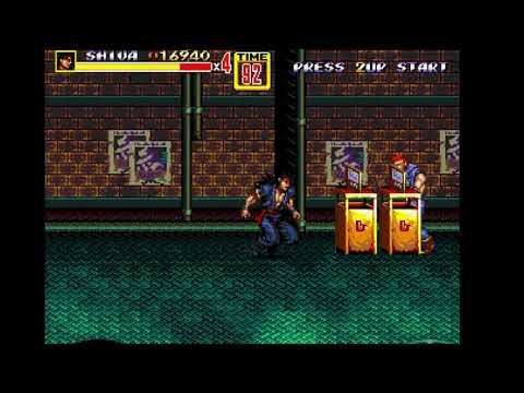 Streets Of Rage 2 PLUS ULTRA: Second Squad - Shiva (configuration Build)