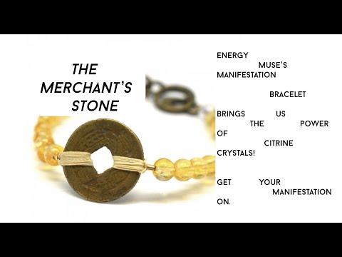 The Merchant's Stone: Energy Muse's Manifestation Bracelet with Citrine