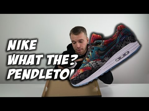 'What The Pendleton' Nike Air Max 1 Exclusive Unboxing