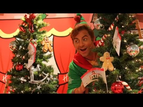 Ben Forster - Elf the Musical Press Launch at Hamleys Store, Manchester 24/9/2017