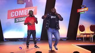 Alex Muhangi Comedy Store Feb18 - MADRAT & CHIKO