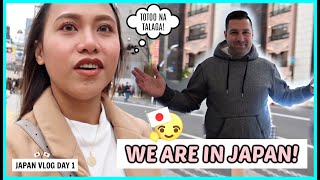 DREAM COME TRUE! OUR FIRST TIME IN JAPAN! ❤️ JAPAN VLOG DAY 1 | rhazevlogs