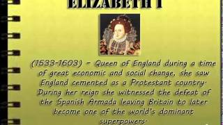 Women who changed the world - Part I