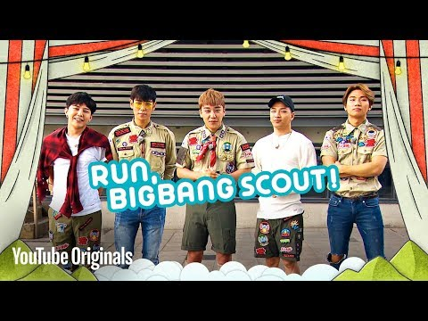 THE GATHERING BEGINS - Run, BIGBANG Scout! (Ep 1)