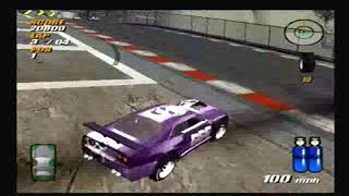 Destruction Derby Arenas PS2: Refinery