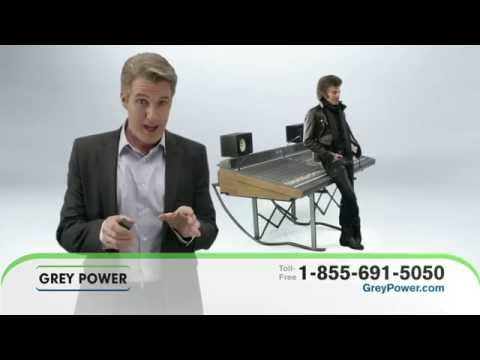Grey Power Insurance :60 DRTV