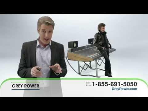 Grey Power Insurance :60 DRTV