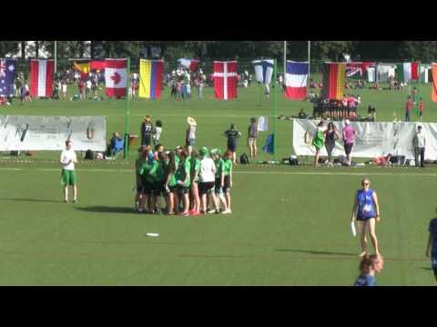 Wroclaw 2016 - ITALY - SLOVAKIA U20 Women - WJUC 2016