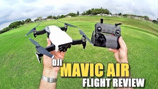 DJI MAVIC AIR Review - [Flight Test In-Depth / Pros & Cons]