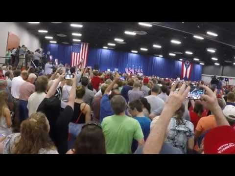 Trump Rally July 6th 2016 Sharonville Convention Center Cincinnati, Ohio