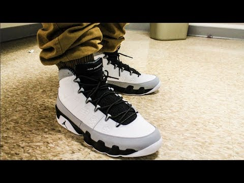 973cdfb8a154 Jordan IX 9 On Feet - Birmingham Barons - YouTube