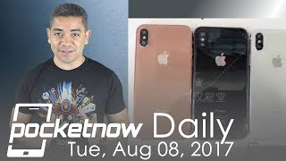 iPhone 8 color options leaked, Galaxy Note 8 box extras & more - Pocketnow Daily