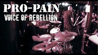 "Pro-Pain - ""Voice of Rebellion"" (Live 2017)"