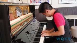 Pianist Conrad Tao plays Meredith Monk