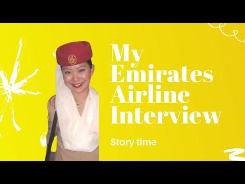 Jeenie Weenie Emirates Airline Interview Story time - Jeenie.Weenie
