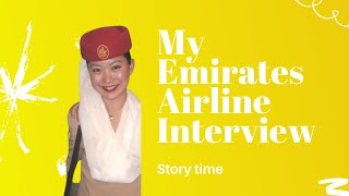 Jeenie Weenie Emirates Airline Interview Story time