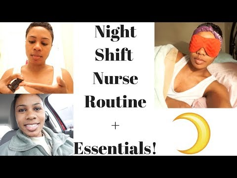 Night Shift Nurse Routine  Essentials!