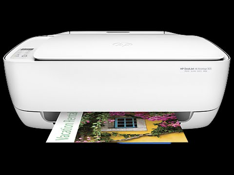 Hp 3635 Wireless All In One Printer Youtube