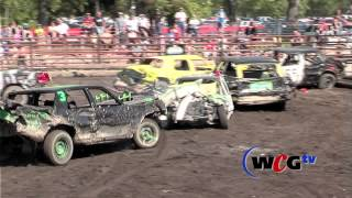 The most amazing demo derby heat you