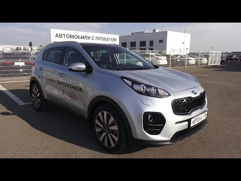 2016 Kia Sportage 2.0 AT 4WD Premium. Start Up, Engine, and In Depth Tour.