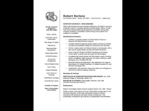 free resume samples and templates how to write a resume youtube