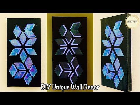 DIY Wall Decor| gadac diy| decoration ideas | wall hanging craft ideas| diy crafts| home decor ideas