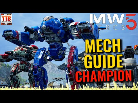 GUIDE: THE CHAMPION! - Mechwarrior 5: Mercenaries DLC Heroes of the Inner Sphere |