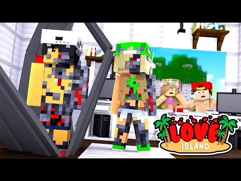 Minecraft LOVE ISLAND - RAVEN IS CAPTURED & TURNED INTO AN EVIL ROBOT!!