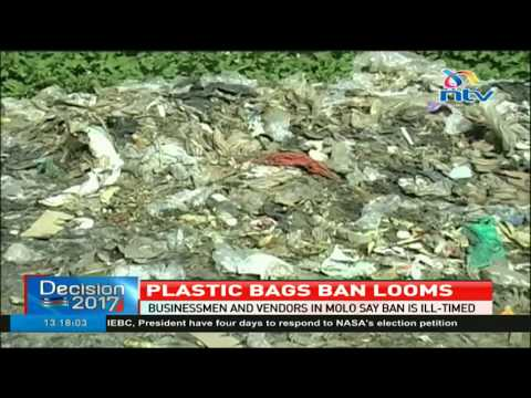 Decision to ban plastics elicits mixed reactions in Molo