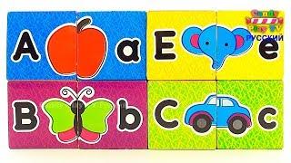 Английский алфавит для детей |Песенка про АЛФАВИТ |  Учим алфавит для самых маленьких  | Учим буквы
