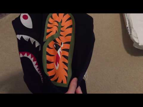 Bape Shark Hoodie Pickup/Unboxing + Quick Review