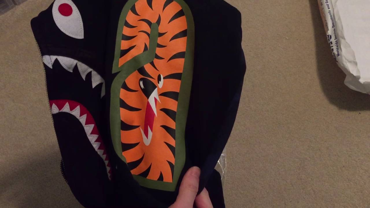 19d549466 Bape Shark Hoodie Pickup/Unboxing + Quick Review