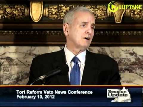 MN Governor Vetoes ALEC Template Bills