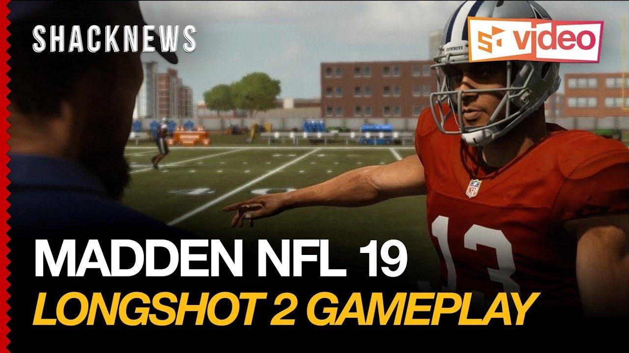 Madden NFL 19 Longshot 2 Gameplay: Homecoming | Shacknews