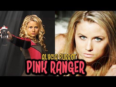 Alycia Purrot the Pink Ranger of Power Rangers S.P.D.