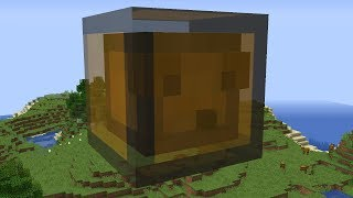 Minecraft but Everything Is a Chest