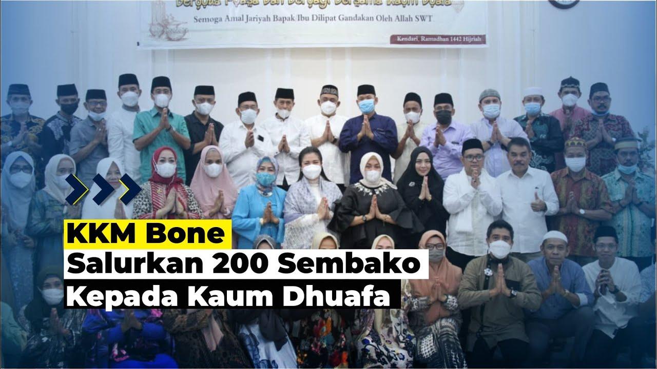 KKM Bone Buka Puasa Bersama Kaum Dhuafa