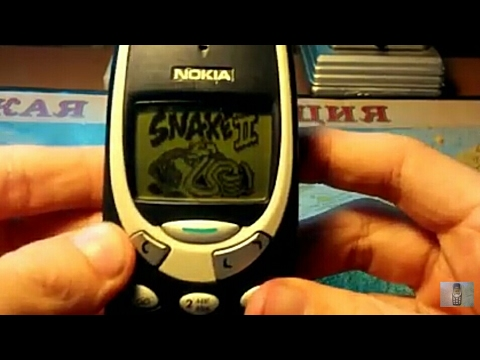 Игра Snake 2 (змейка) на телефоне Нокиа 3310