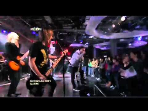 Abandon All Ships - Geeving live @ Much Music 2011